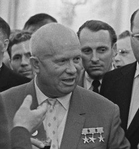 Slaptas sovietinis viešnamis: kaip N.Chruščiovas sutriuškino akademikus paleistuvius