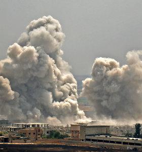 SOHR: per intensyvias kovas Sirijos Idlibe žuvo 39kovotojai