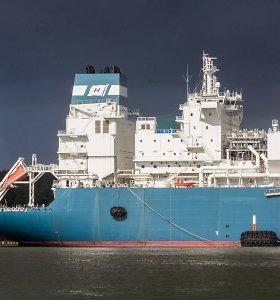 Į Klaipėdą plaukia didelis SGD krovinys iš Norvegijos