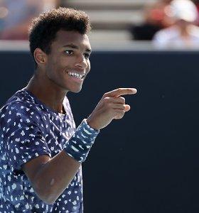 Jauniesiems ATP talentams turnyro Roterdame ketvirtfinaliuose sekėsi skirtingai