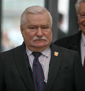 L.Walesa smerkia Varšuvos sprendimą nekviesti Rusijos į II pasaulinio karo metinių minėjimą