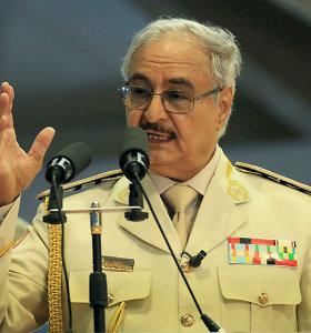 Tripolio vyriausybės oponentai teigia paskandinę ginkluotės atgabenusį Turkijos laivą