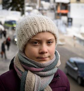 Klimato aktyvistėGreta Thunberg atsisakė aplinkosaugos apdovanojimo