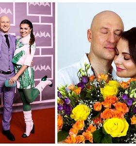 """""""Patrulis"""" Algirdas Radzevičius skiriasi su žmona Milisandra: santuoka truko daugiau nei 10 metų"""