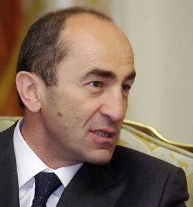 Armėnijos eksprezidentas R.Kočarianas paleistas į laisvę