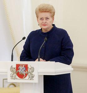 Prezidentė pritarė R.Norkaus ir G.Mesonio kandidatūroms į ES Bendrąjį Teismą