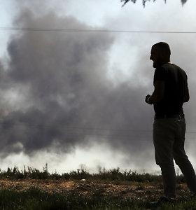Turkija kaltina kurdų pajėgas tyčia paleidus įkalintus IS džihadistus Sirijoje