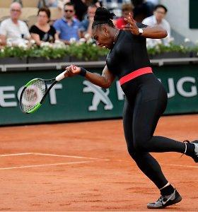 """Už persirengimą korte įspėta tenisininkė: """"Uždrausti Serenos kostiumą yra didesnė problema nei mano incidentas"""""""