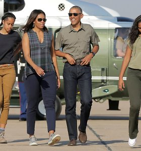 M.Obama atvirai papasakojo, ką teko išgyventi jos dukroms vyro prezidentavimo metu