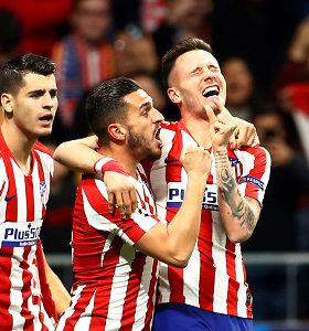 """Fantastiška Čempionų lyga: """"Atletico"""" triumfas prieš """"Liverpool"""" ir PSG po 19-mečio kojomis"""