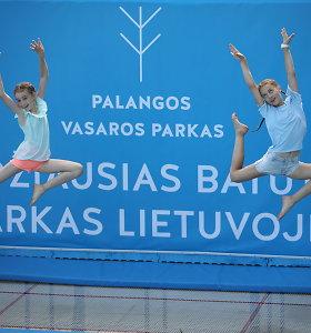 Olimpiniai batutai Palangoje