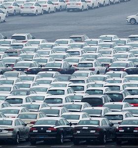 Naujų automobilių pardavimai Europoje birželį smarkiai sumažėjo