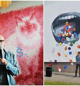 Marijampolės gatvėse – nauji įspūdingi menininkų piešiniai