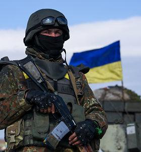 Lietuvos ir Estijos ginklų kontrolės inspektoriai lankosi Ukrainoje