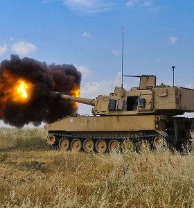 """Amerikiečiai kuria """"strateginę artileriją"""", šaudančią beveik 2000 km atstumu"""