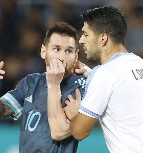Žvaigždžių įvarčiais paženklintose rungtynėse – lygiąsias išplėšęs L.Messi smūgis