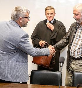 Papirkimu ir kyšio paėmimu kaltinamas verslininkas ir valdininkas susitiko Kauno teisme