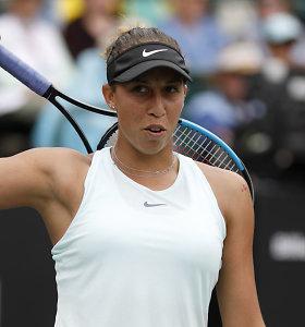 Pirmasis titulas ant grunto – Madison Keys triumfavo Čarlstone