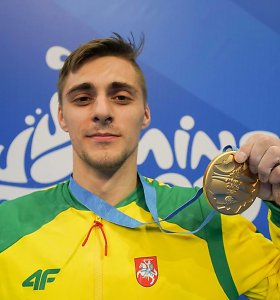 Auksinis Europos žaidynių finišas – Robertas Tvorogalas tapo čempionu!