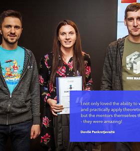 """Programuotoja Dovilė Pankratjevaitė: """"IT yra plati sritis"""""""
