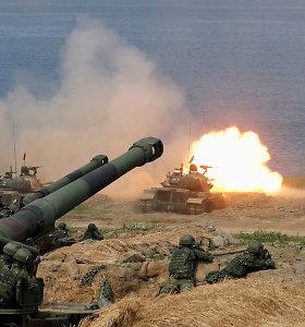 Kinija rengs naujus karinius mokymus netoli Taivano