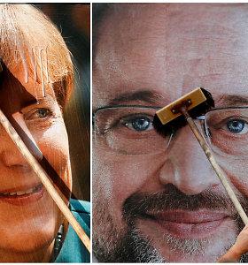 Abejonių beveik nėra: Vokietijoje toliau dirbs didžioji koalicija