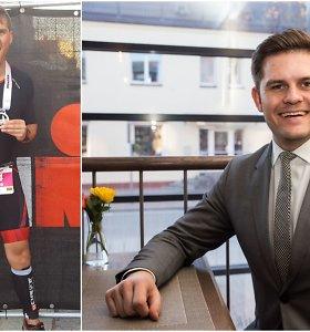 """12 maratonų įveikęs jauniausias Lietuvoje meras D.Kaminskas: """"Noriu ištrinti mitus apie Tauragę"""""""