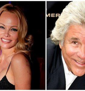 Penktą kartą slapta ištekėjo Pamela Anderson: išrinktasis – 22 metais vyresnis kino prodiuseris