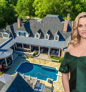 Holivudo aktorės Reese Witherspoon idilė Nešvilyje: pažiūrėkite, kaip atrodo jos namai