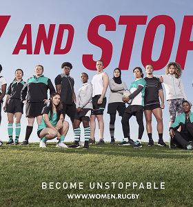"""""""World Rugby"""" atsigręžia į moterų regbį: atėjo laikas keisti požiūrį"""