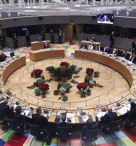 Europos Sąjunga dėl koronaviruso atšaukia tiesioginius susitikimus