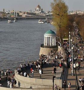 Balandžio 30-oji Maskvoje buvo šilčiausia diena per beveik pusę amžiaus