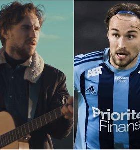 """""""Spotify"""" žvaigždė gali tapti Švedijos futbolo čempionu"""