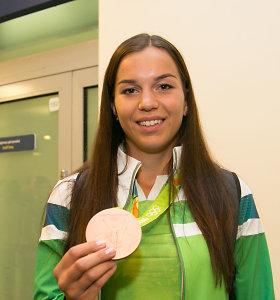 Olimpinė prizininkė nustebusi: Europos čempionatas jai bus kitoje ekrano pusėje