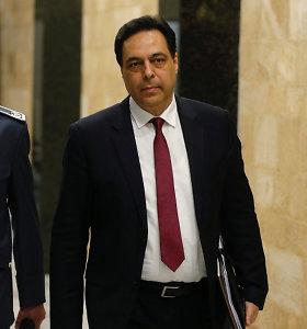 Naujasis Libano premjeras: šalis atsidūrė ekonominėje aklavietėje