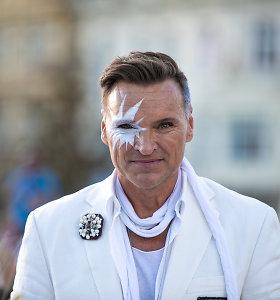 """Le Dîner en Blanc"" Vilniaus Katedros aikštėje"