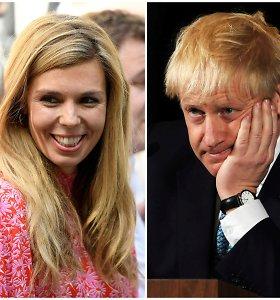 Borisas Johnsonas ir jo mergina įsikraustė į rezidenciją Dauningo gatvėje