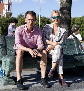 Atidarytas Vilniaus kalbančių skulptūrų sezonas: pokalbiui kviečia ir maestro Vytautas Kernagis