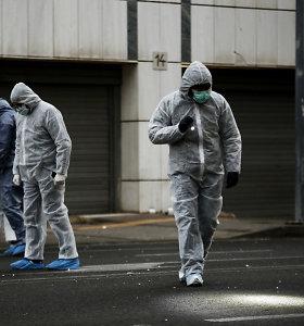 Atsakomybę už sprogdinimą Atėnų teisme prisiėmė graikų kraštutinių kairiųjų grupė