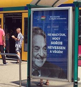 """Vengrijos teismas nurodė vyriausybei atsiprašyti dėl """"klaidinančių faktų"""" apie G.Sorosą"""