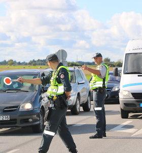 Klaipėdos Kelių policijos pareigūnai per savaitgalį išaiškino 17 neblaivių vairuotojų