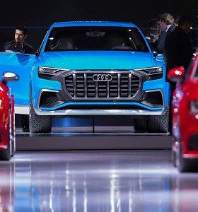 """2017-uosius """"Audi"""" pradeda trijų naujų modelių premjeromis"""