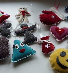 Nuteistieji vaikams Kalėdų proga pagamino kelis šimtus žaislų