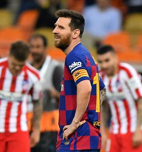 """Skaudžią nesėkmę sugėręs L.Messi: """"Liūdna, nes žaidėme tikrą gerą mačą"""""""
