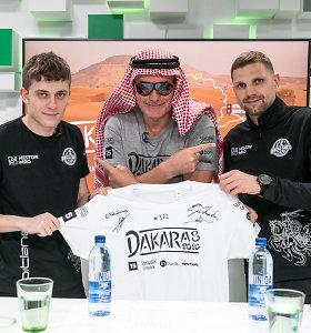 """Ar Dakaro naujokai E.Juškauskas ir A.Paliukėnas iš """"vanagiukų"""" taps tikrais vanagais?"""