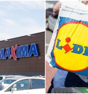 """Estijos """"Maxima"""" vadovas: """"Lidl"""" kainų nesumažins"""