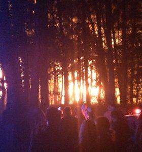 Teisme triumfuoja dėl gaisro Rumšiškėse apkaltintas vyras: namai užsidegė ne nuo fejerverkų