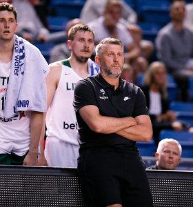 D.Maskoliūnas pasirinko: Lietuvos rinktinė – be NBA žaidėjų, bet su dviem naujokais