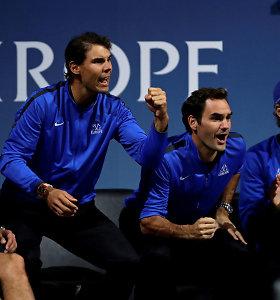 Laverio taurėje Europos komandą papildė trys tenisininkai