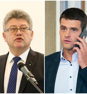 """Taika truko neilgai: """"tvarkiečių"""" susitarimas su A.Juozaičiu įvyko R.Žemaitaičiui už akių"""